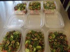 WooLaLa Zucchini, Salads, Vegetables, Food, Essen, Vegetable Recipes, Meals, Yemek, Salad