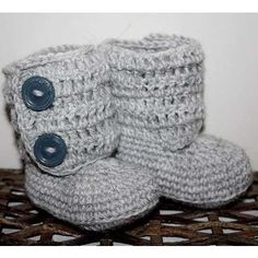 crochet boot booties crafts-i-can-do