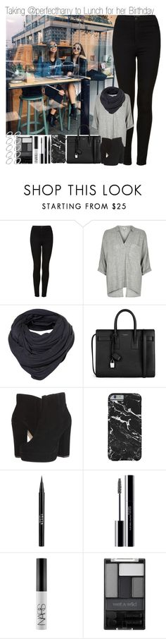 """Taking @perfectharry to Lunch for her Birthday"" by elise-22 ❤ liked on Polyvore featuring Topshop, River Island, Yves Saint Laurent, Steve Madden, Stila, shu uemura, NARS Cosmetics, Wet n Wild, ASOS and birthday"