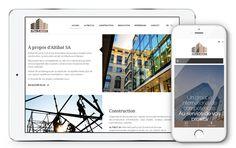 Altibat fait confiance à l'agence Web4 pour la création de son nouveau site web www.altibat.ch en ligne maintenant! Lausanne, Site Web, Baby Born, Fishing Line, Simple