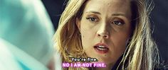 KRYSTAL IS NOT FINE. With everything else Delphine had to worry about she is fine