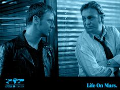 Life on Mars wallpaper with Sam and Gene