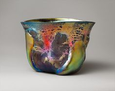 Bowl -  Designer: Designed by Louis Comfort Tiffany (American, New York 1848–1933 New York) Maker: Tiffany Furnaces Date: ca. 1908