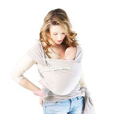 aaf2ed90112 Echarpe de portage Basic perle Je Porte Mon Bébé pour enfant dès la  naissance - Oxybul éveil et jeux