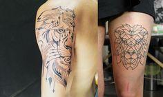 tatuagem de leão, desenho leão, tatuagem potilhada, tatuagem aquarela, alex cursino, inspirações, como fazer, grooming, blog de moda masculina, menswear, dicas de moda para homens (5)-horz