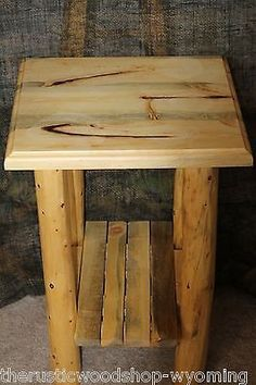 Rough country rustic furniture bed with hidden guns for Log cabin gunsmithing