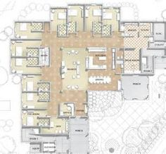 Gallery for assisted living facilities floor plans one for Best flooring for seniors