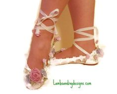 Hey, I found this really awesome Etsy listing at https://www.etsy.com/listing/130136228/brides-princess-ballet-slippers-weddings