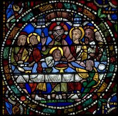 Chartres Cathedral Stained Glass - Bay 51 (The Passion)