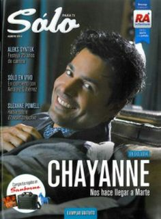 Chayanne magazine cover 2014