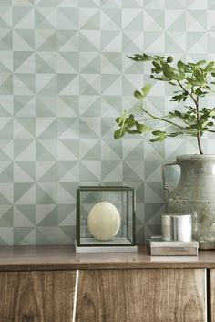 Eco Dimensions 8101 we love this soft mix of greens to bring a calm, soothing yet interesting background.