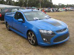 2008 Ford Falcon FG Super Pursuit Utility by Sicnag, Australia