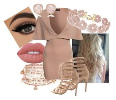 """""""Untitled #230"""" by krisxinfinity on Polyvore featuring Lime Crime, Accessorize, Club L, BaubleBar, Charlotte Russe and Monica Vinader"""