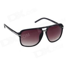Brand: HongChang; Quantity: 1; Gender: Unisex; Suitable for: Adults; Protection: UV400; Frame Color: Bright black; Lens Color: Wine red; Frame Material: PC plastic; Lens Material: Resin; Lens Height: 53 mm; Lens Width: 63 mm; Bridge Distance: 14 mm; Overall Width of Frame: 142 mm; Temple Length: 135 mm; Packing List: 1 x Glasses; 1 x Glasses cloth; 1 x Glasses box; http://j.mp/1ljHOPU