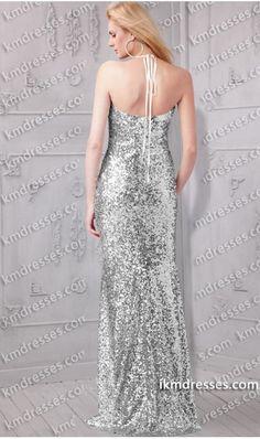 http://www.ikmdresses.com/Dazzling-plunging-v-neckline-front-slit-sexy-halter-sequin-gown-p60940