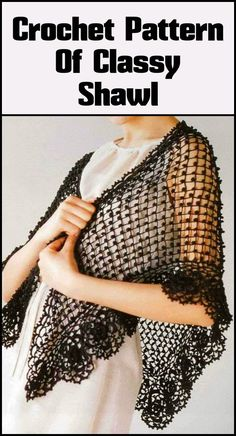 100 Free Crochet Shawl Patterns - Free Crochet Patterns - Page 17 of 19 - DIY & Crafts