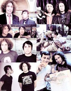 In the real world he's a nice guy who likes gadgets, but when there's a guitar involved, Ray Toro is a god. - Frank Iero