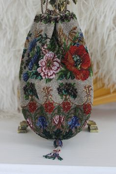 Antique Beaded Bag Rosemary Cathcart Collection