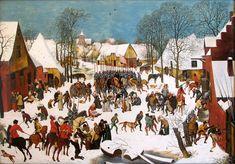 Pieter BRUEGEL (1525 - 1569) le massacre des innocents – 1565