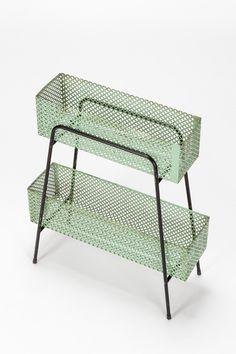 Industrial Metal, Industrial Design, Metal Furniture, Outdoor Furniture, Outdoor Decor, Metal Shelves, Shelving, Marie Galante, Studio C