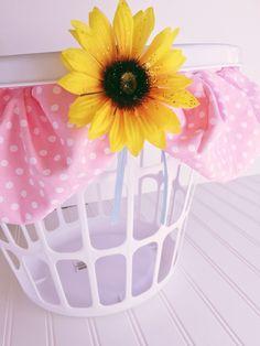 Ideas para decorar canastas para el cuarto de lavado. Manualidades fáciles…