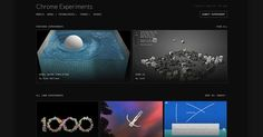 A showcase of web experiments written by the creative coding community.