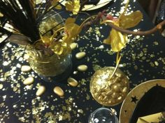 Noel en noir et or