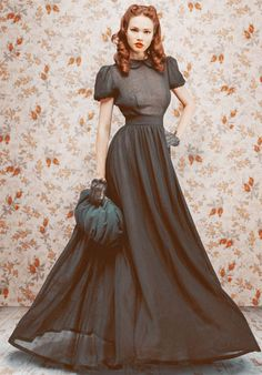Old School Russian Glamour from Designer Ulyana Sergeenko: Fall/Winter 2011