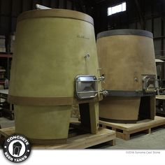 #Love #craftbeer ? Conical Concrete #Beer Tanks from #concretebeertanks .com, 4 models, 25-30 bbl. Our most popular style. Optional steel or concrete pedestal. Concrete tanks for #stout, #porter, #wildbeer, #sourbeer. Showroom quality, wow #brewery guests. Choice of color, logo placement, temp-control. Large man ways for easy cleaning. Guaranteed not to crack or leak. From Sonoma Cast Stone. Made in the US. See all styles at http://tinyurl.com/grf2qbk #beerporn #beerstagram #beersnob…