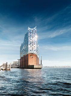 À quoi ressemble la nouvelle Philharmonie de Hambourg?