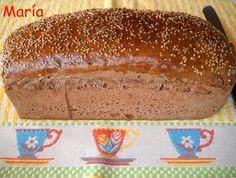 Pan de molde de cacao y especias