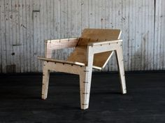 OpenDesk and Baltimore-based Object Guerrilla have developed the Zip Tie Lounge Chair, a new flat-pack offering that can be assembled with 44 zip ties.