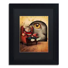Mice Series #3.5 by J Hovenstine Studios Framed Graphic Art