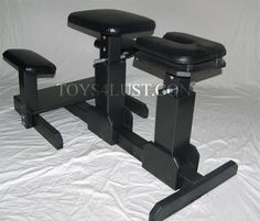 The spanking bench Emma uses in a scene with her clients, a married couple learning BDSM together.