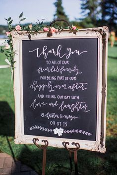 18 Most Popular Wedding Signs ❤ See more: http://www.weddingforward.com/popular-wedding-signs/ #weddings