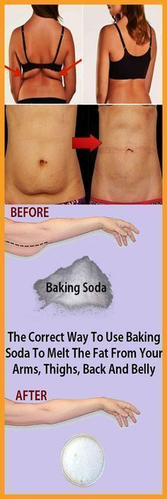 The Correct Way To Use Baking Soda To Melt The Fat From Your Arms