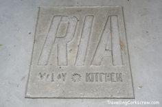Ria Malay Kitchen sign