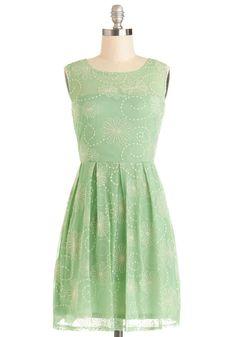 Crisp Morning Air Dress in Mint, #ModCloth INSPIRATION for Mint Green Sleeveless Colette Laurel Dress