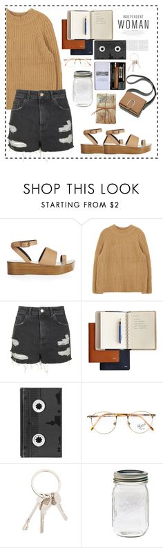"""""""#Independant woman"""" by espirex ❤ liked on Polyvore featuring TIBI, Topshop, Mark & Graham, Luckies, Persol, Givenchy and GO Home Ltd."""