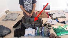 Den här killen är verkligen ett proffs när det kommer till att packa sin resväska, det här är verkligen bra, lär dig hur man packar sin resväska på ett effektivt sätt så att du får med dig allt du behöver på din nästa resa!! Comments comments