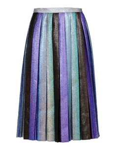 Marco de Vincenzo Pleated Skirt, $1,276 at thecorner. This glittery pleated skirt is about as close as you can get to wearing a rainbow without looking crazy.