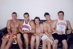 5 Gronkowski's On A Couch