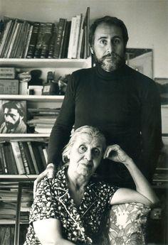 Vartoosh Mooradian (Gorky's sister) and her son Karlen Mooradian, ca. 1981. Courtesy Karlen Mooradian
