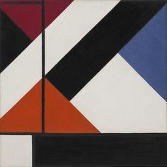 Theo van Doesburg (Christian Emil Marie Küpper). Simultaneous Counter-Composition. 1929-30, Oil on Canvas, 49.5 x 49.5cm