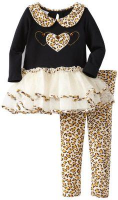 Bonnie Jean Girls 2-6X Leopard Trim Tutu Legging Set, Brown, 2T Bonnie Jean http://www.amazon.com/dp/B00DR7DNBG/ref=cm_sw_r_pi_dp_kFWRub0NZ8RRY