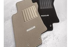 2014-2015 Nissan Rogue Black Carpeted Floor Mats Front & Rear Set Of 4 OEM NEW - Nissan (999E2-G2000)