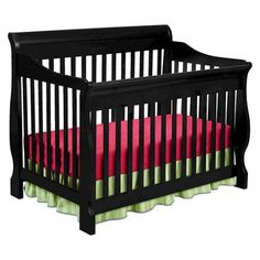 Canton 4-in-1 Convertible Crib by Delta Children's Products - Black LITERALLY PERFECT this is the one I want