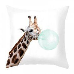 Διακοσμητικό κάλυμμα μαξιλαριού καμηλοπάρδαλη Giraffe, Giraffes
