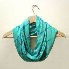 I kind of really really REALLY want this scarf. Lol.  PDX Carpet // Patterned Infinity Loop Scarf by shopstephanieraab