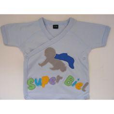Bodys  para bebe de 100% algodón decorados con dibujos realizados en fieltro.  Body original para regalar o para vestir a tu bebé.
